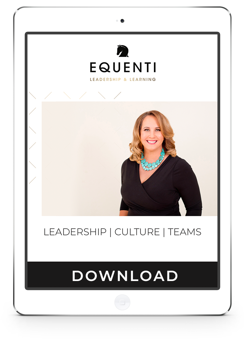 Equenti Leadership Culture and Teams Guide