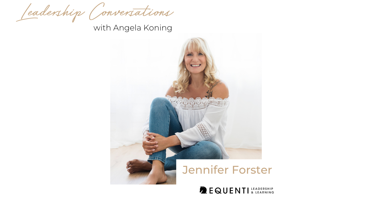 leadership conversation jennifer forster